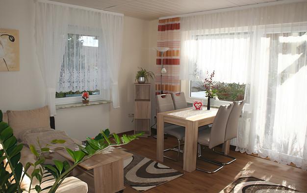 Essbereich/Wohnzimmer Schneeweißchen