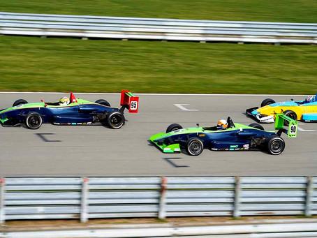 Jensen Development Driver Mitch Regadas Scores 6th Consecutive F2000 Podium