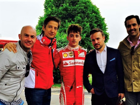 2017 Belgian Grand Prix With Charles Leclerc