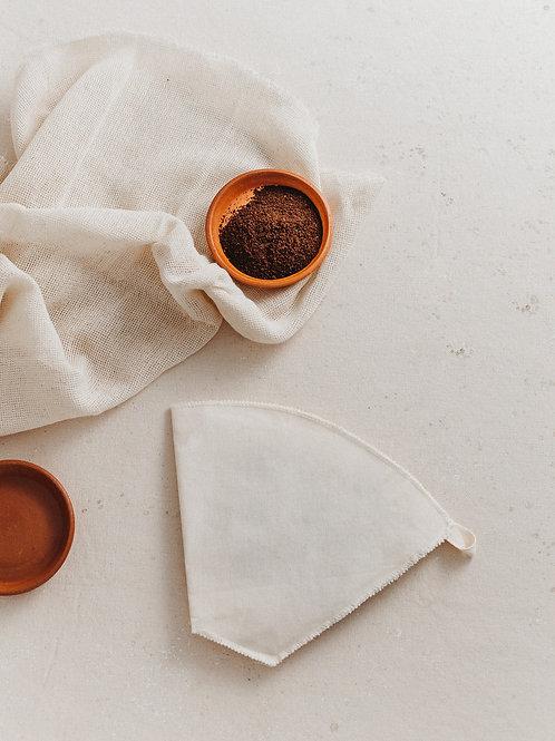 Filtro de café reutilizável