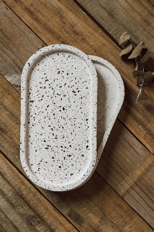 Bandeja oval granilite Col. Rio Negro