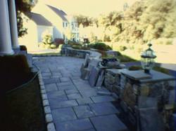 Blue Stone Patio