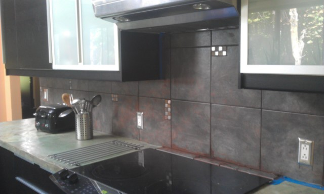Industrial Back Splash
