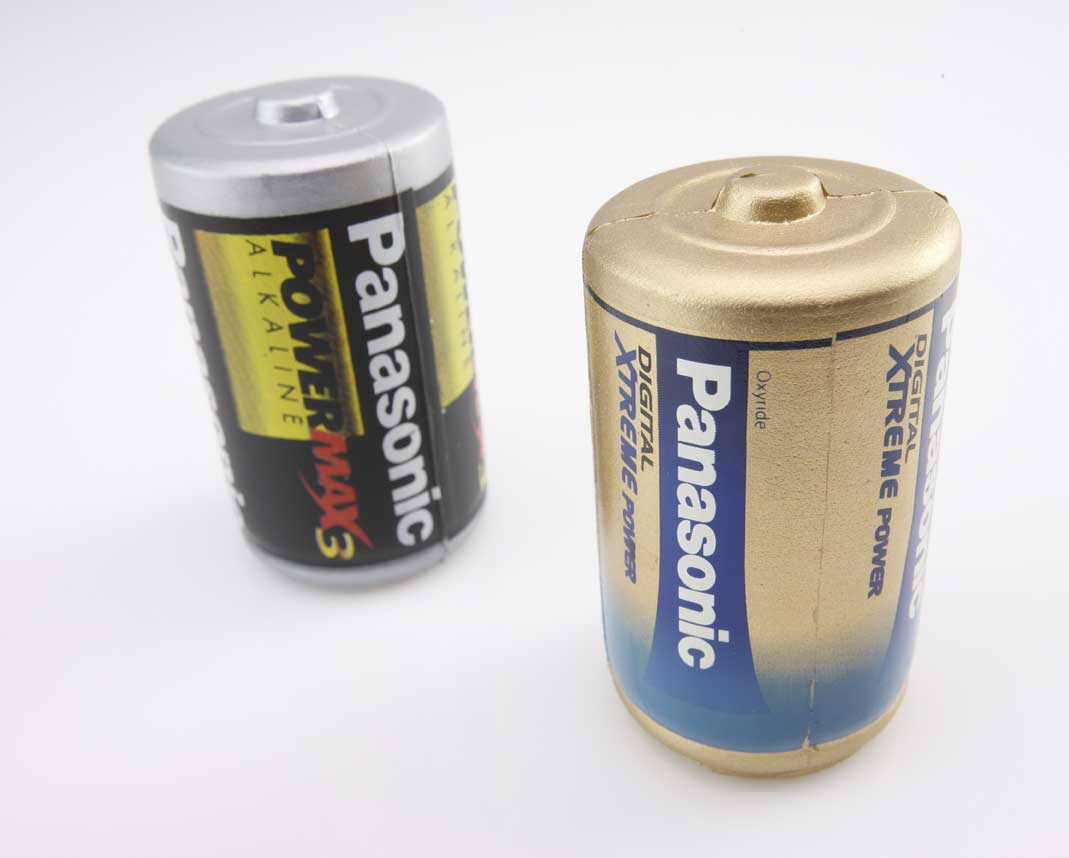 Panasonic-stress batteries 2