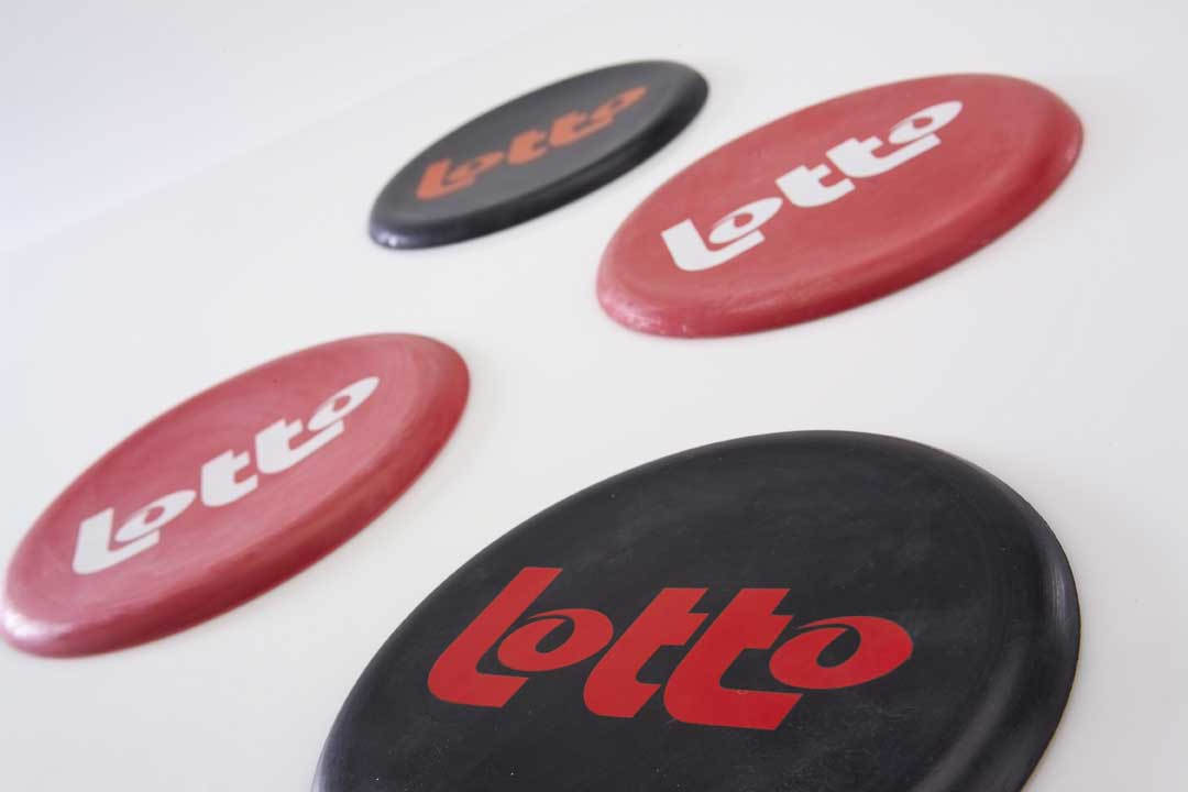 nationale loterij-lotto-rubber frisbee