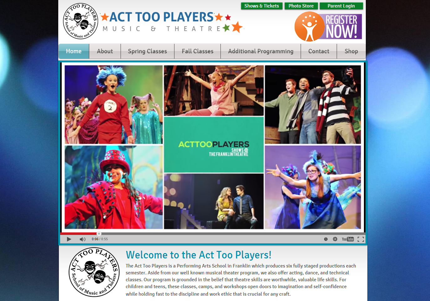 Act Too Players School