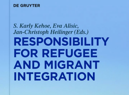 "Annemiek schrijft hoofdstuk in ""Responsibility for Refugee and Migrant Integration"""