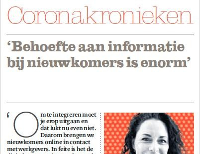 NewBees in Het Financieele Dagblad