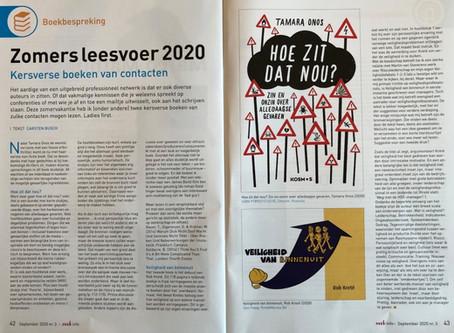 'Veiligheid van Binnenuit' in boekbespreking NVVK-blad door Carsten Busch