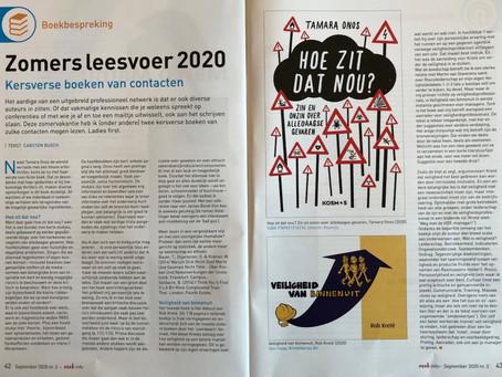 """Veiligheid van Binnenuit"" in book review NVVK-magazine by Carsten Busch"