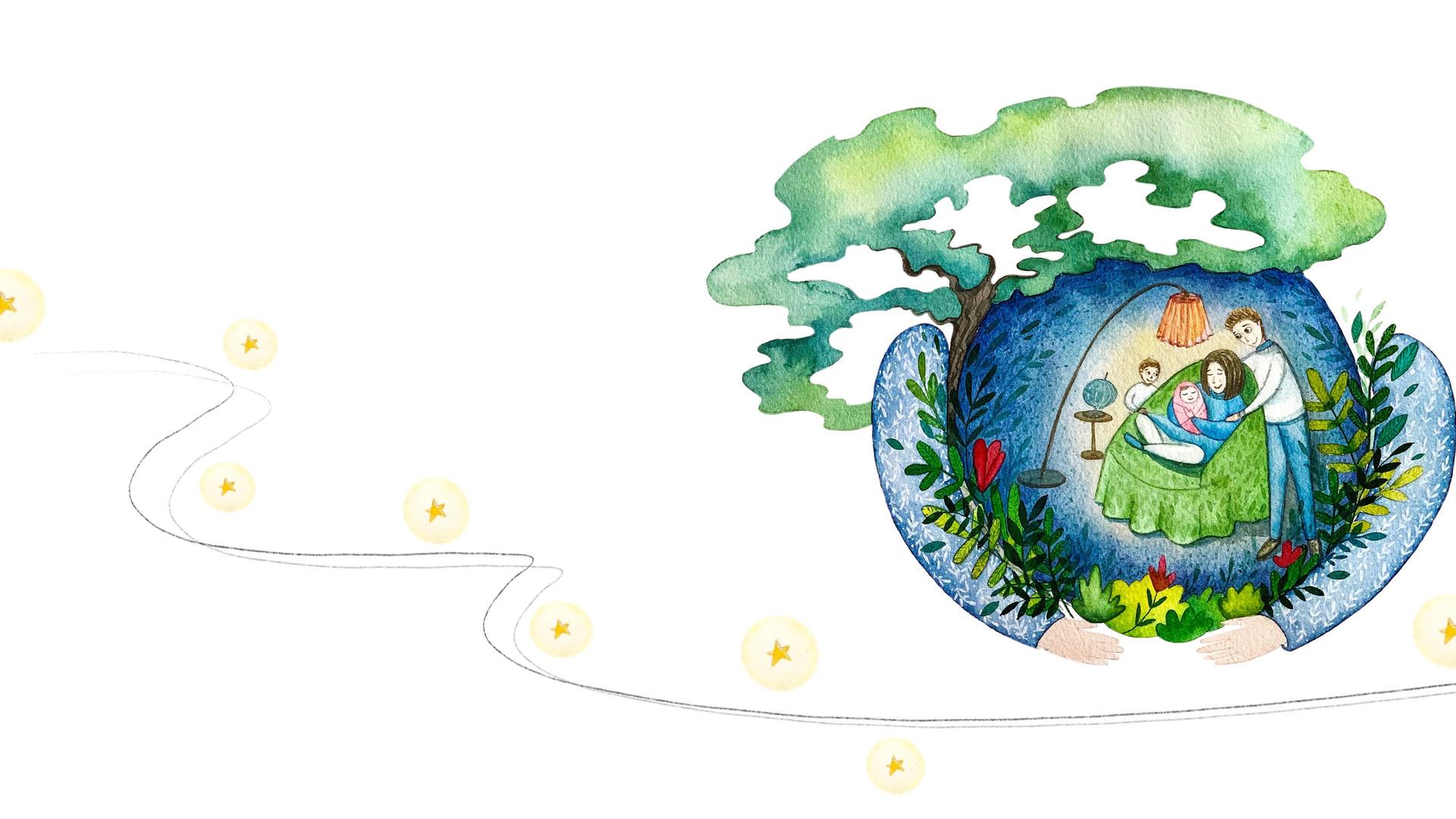 Very Tales Illustratie Natalia Nazarian