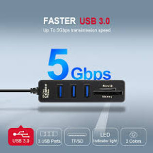 USB Hub 3.0 Multi USB 3.0 Hub USB Splitter High Speed 3 6 Ports 2.0