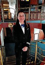 1st Receptionist - Marcela Claudia Barba