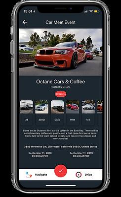 Octane App - Event Details