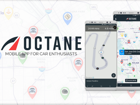 Introducing the Octane Mobile App for Car Enthusiasts