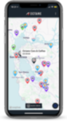 Octane app shows nearby events such as car meets, car shows, and cruises.