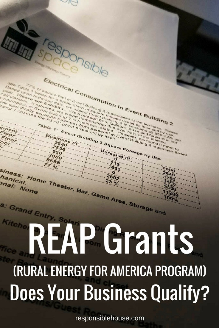 REAP Grants | Electrical Usage Audit and Findings Report