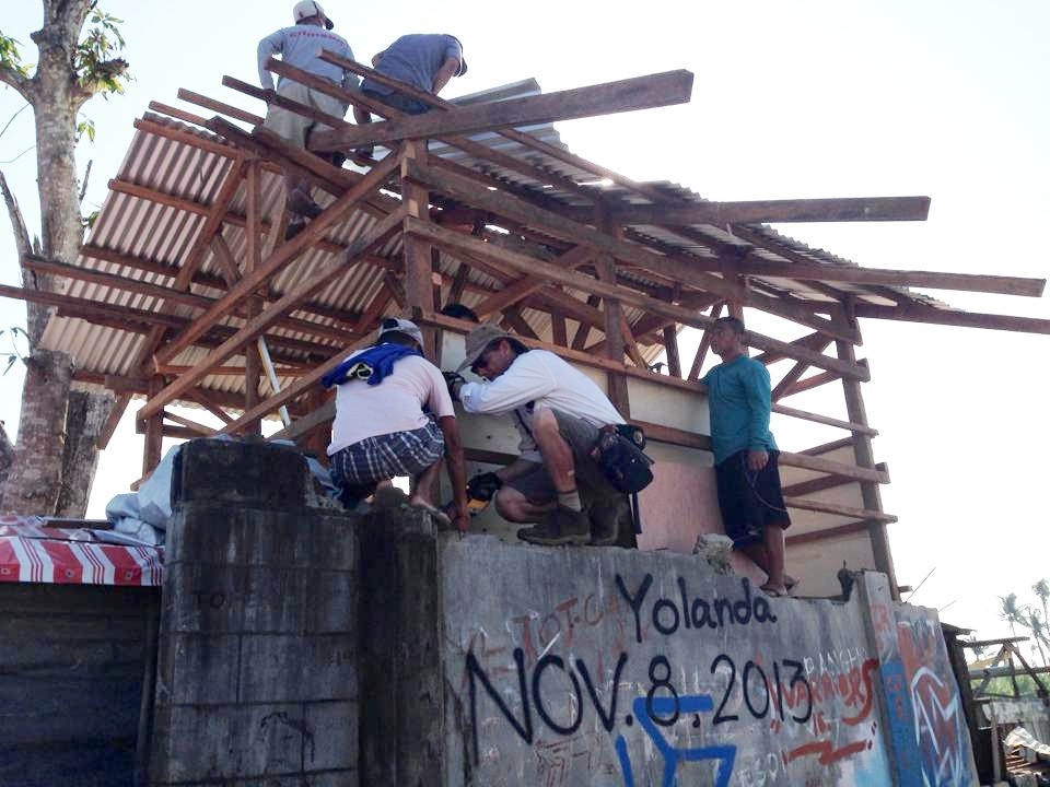 on-site training after Yolanda | Tacloban, Philippines