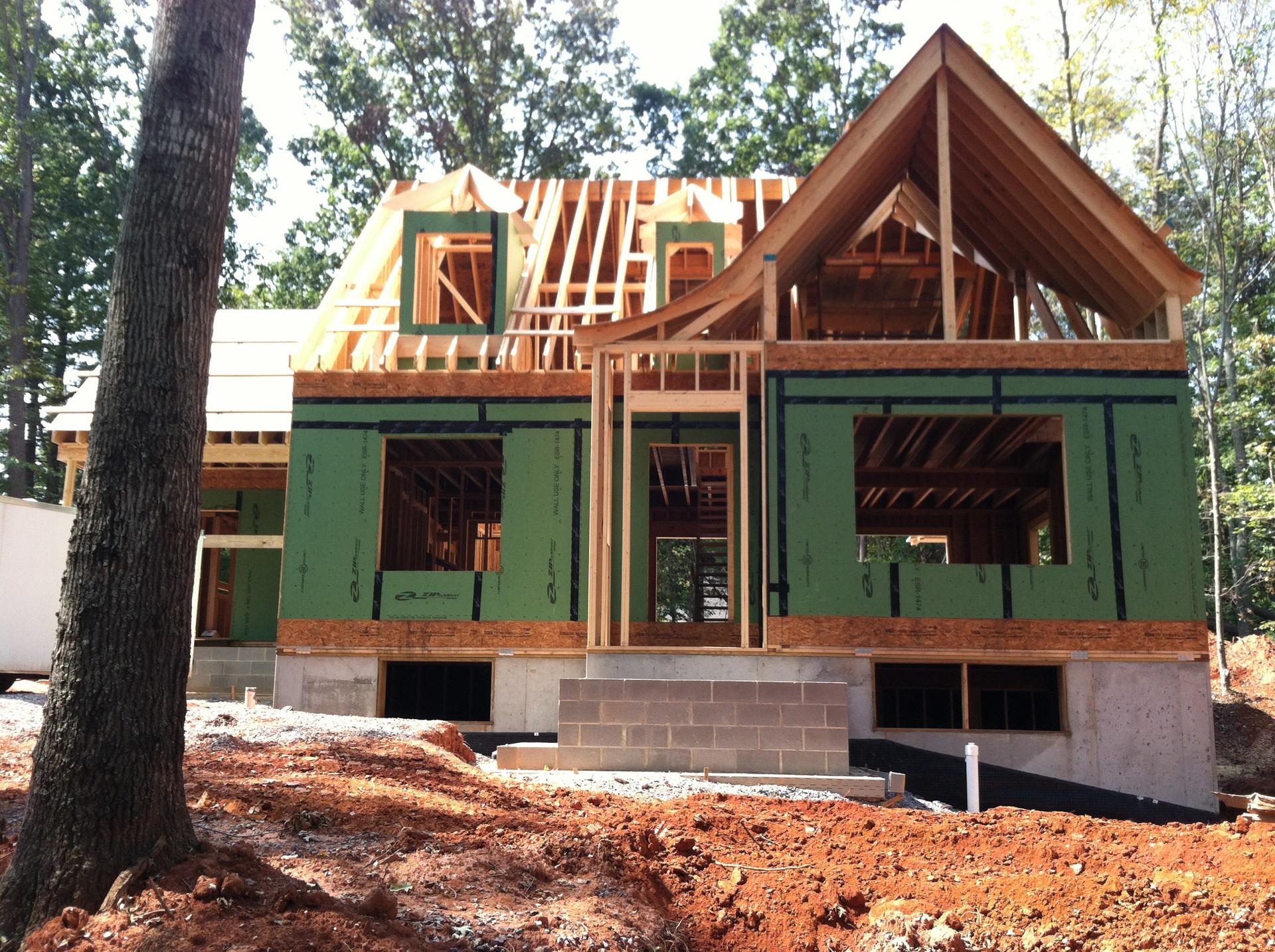 new contruction architect: Frazier Associates