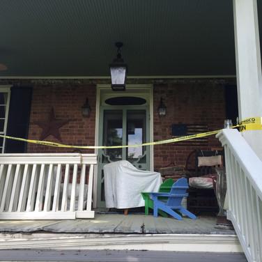 Porch Rebuild - BEFORE