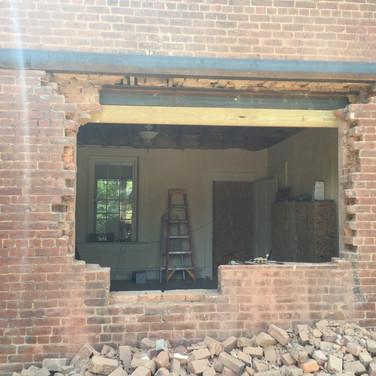 Kitchen Pass-through Window | During