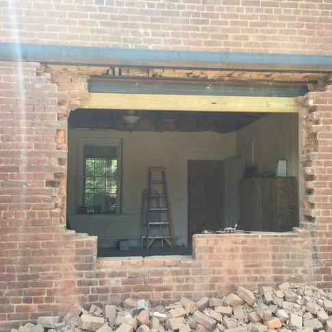 Kitchen Pass-through Window   During