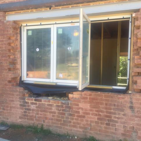 Kitchen Accordion Window   During