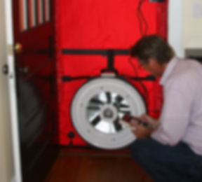 home energy audit | blower door