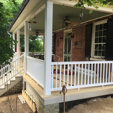 Porch Rebuild - AFTER