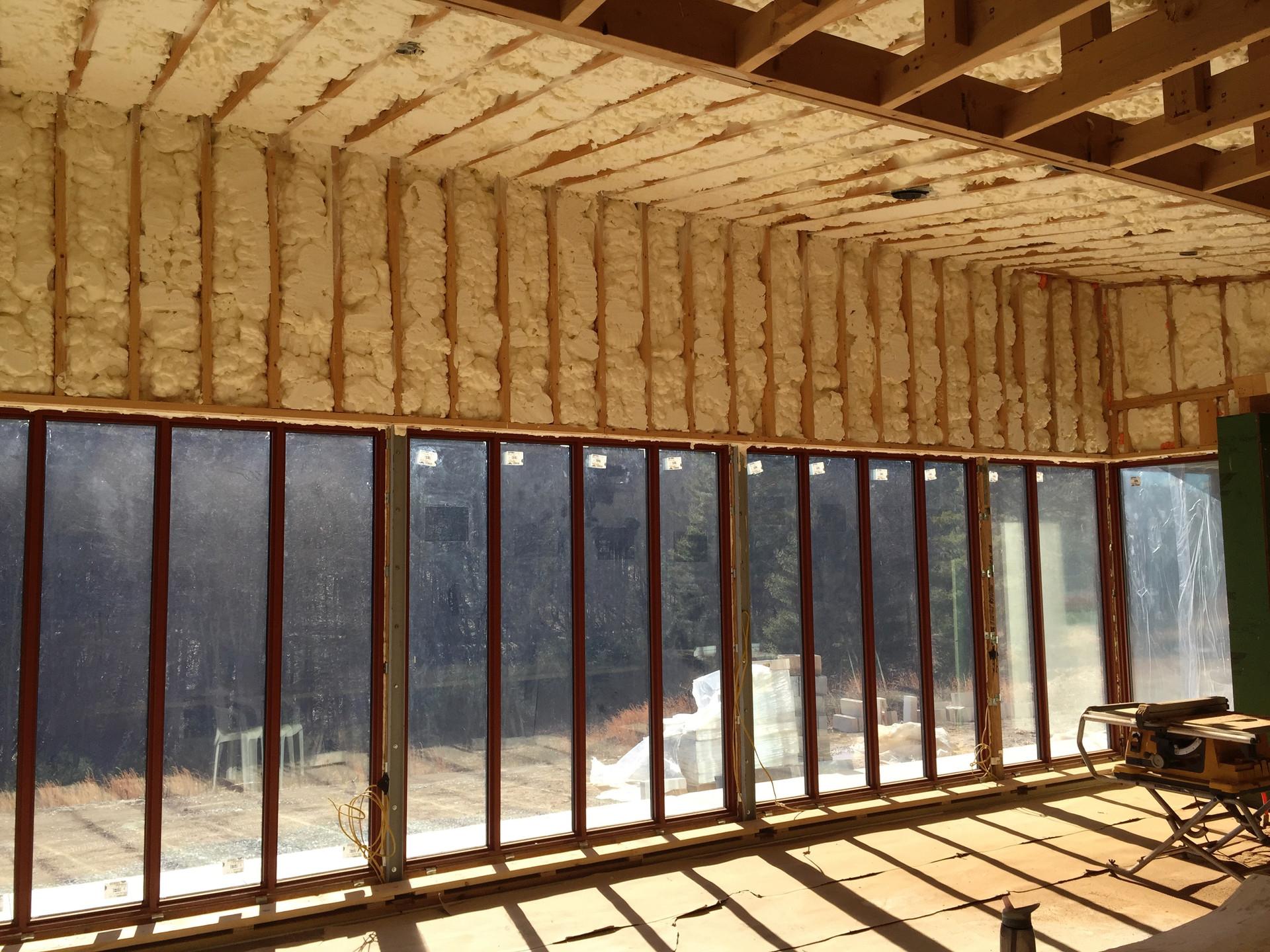 Passive Solar House: insulation