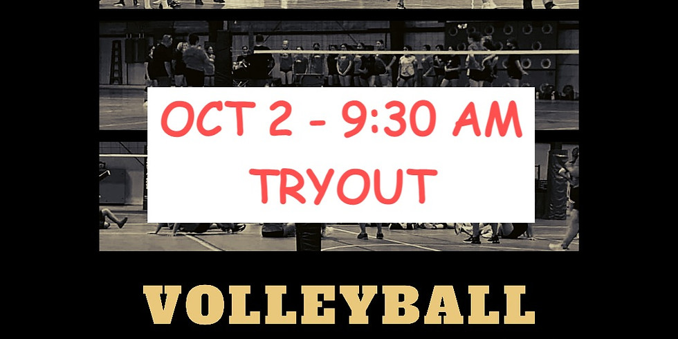 TRYOUT OCT. 2, 2021