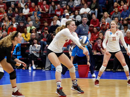 Stanford Volleyball Mehgan McClure