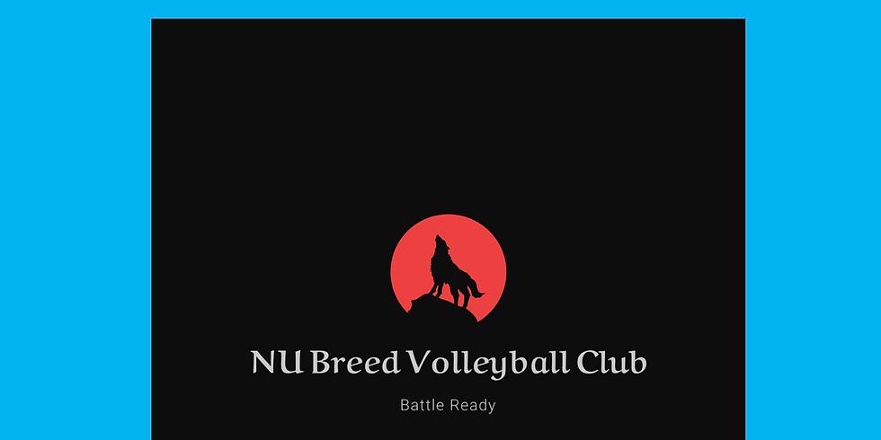 NU Breed Tryouts VTots - 18U