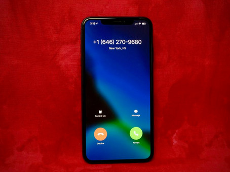 Another Phone Call, Another Colossal Annoucement