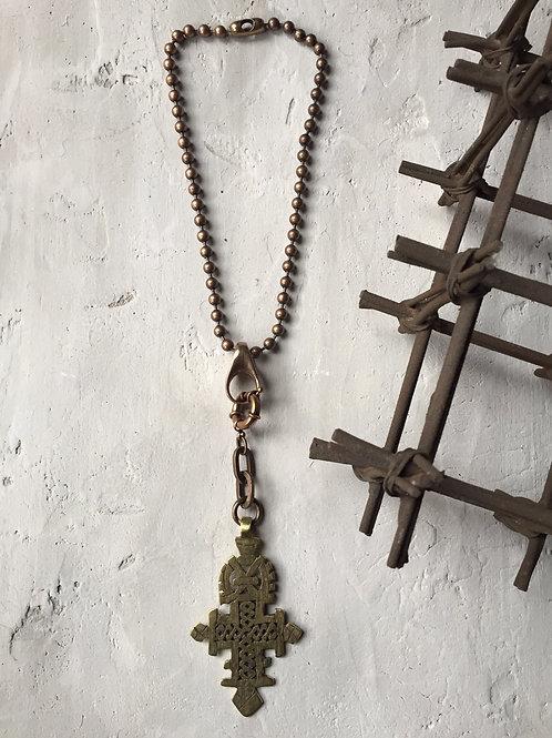 ankh cross necklace