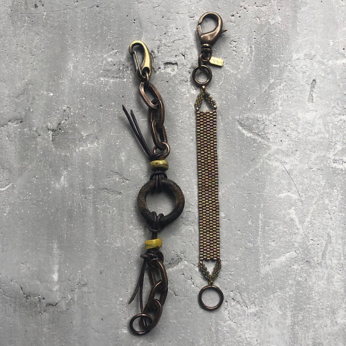 Nigerian ring w/Hebron beads