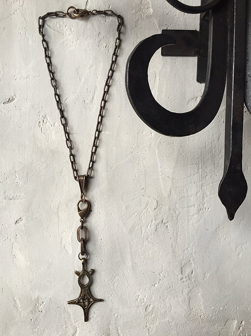small ankh necklace