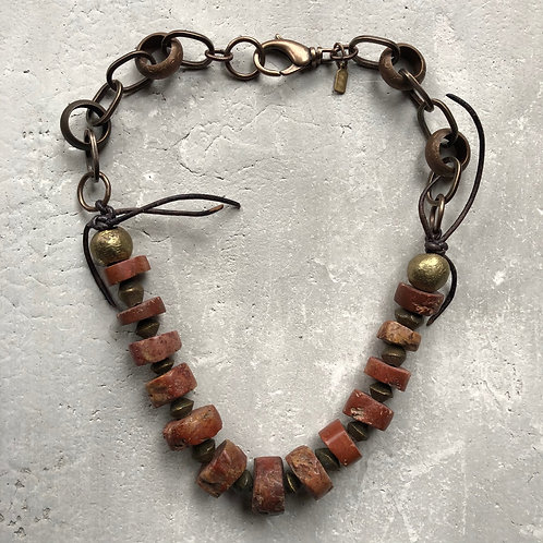 Bauxite clay beads