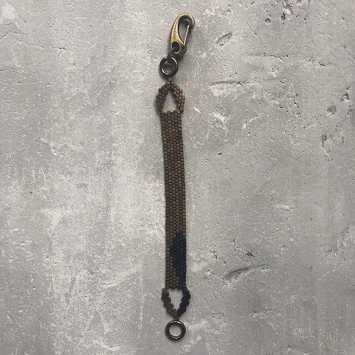 Matte tobacco w/black bracelet