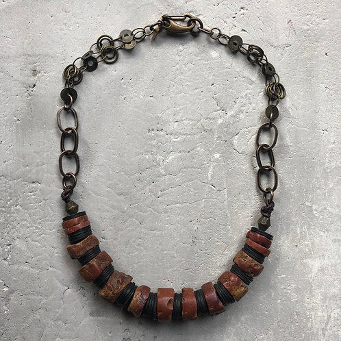 Bauxite stone beads