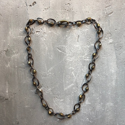 Hammered chain from Bali