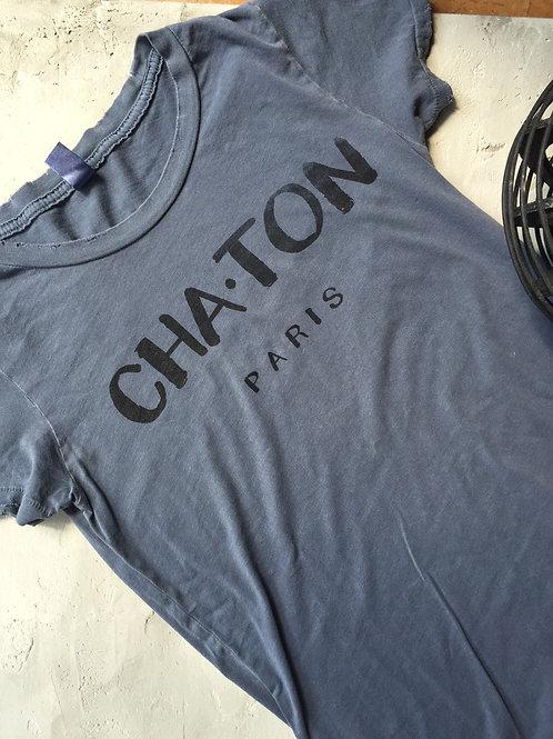 cha.ton graphic t-shirt