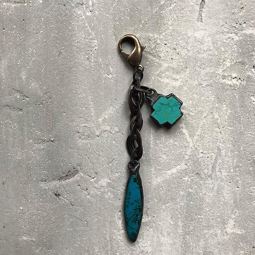 Turquoise w/turquoise