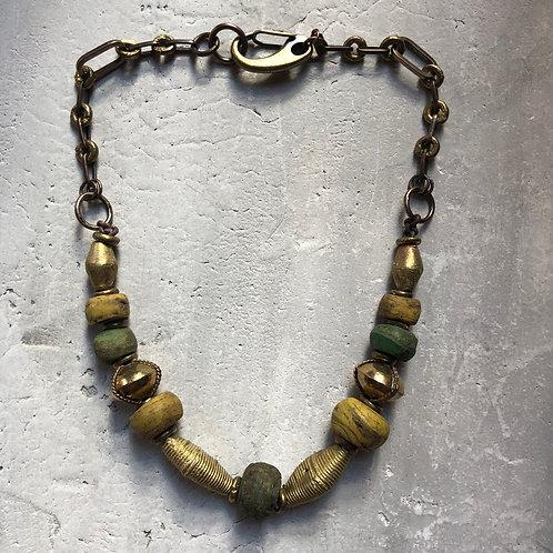 Mixed ancient Hebron beads