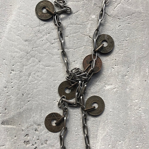 African coin lariat