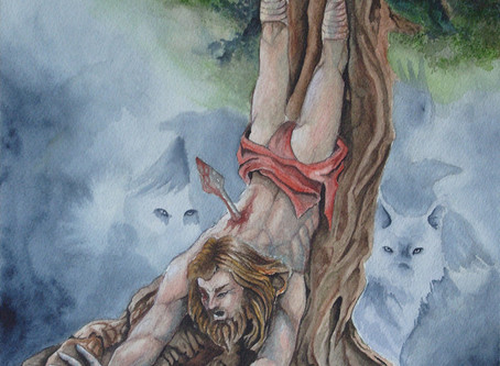 O Mito de Odin, O Pendurado, Você e o Destino da Humanidade.