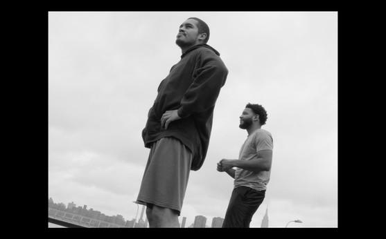 8.  Nathan & Byron on the river banks.