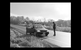 18. Car breaks down as they flee to Upstate New York.
