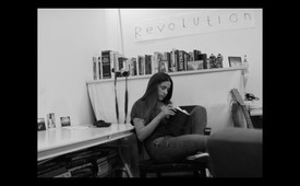 9. Vanessa, alone in Nathan's apartment.