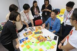 LEGO SERIOUS PLAY SENSE Training House Team Building Strategic Planning Design Thinking Change Management Innovation